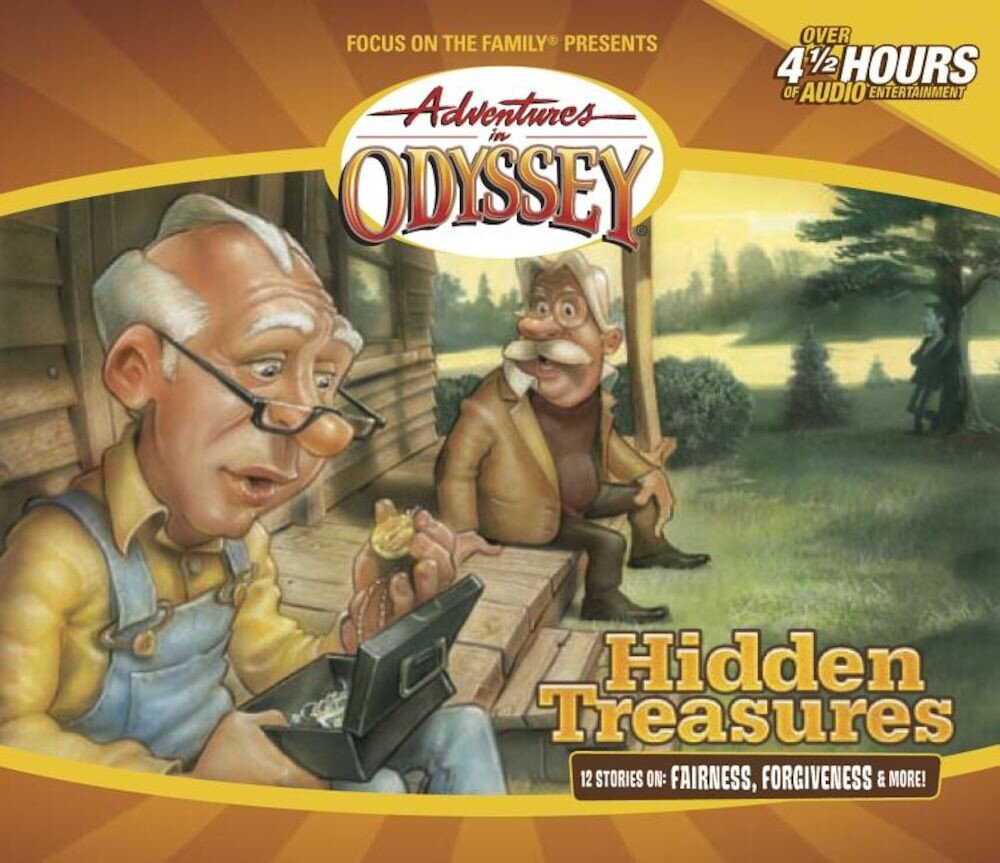 Hidden Treasures, Audiobook