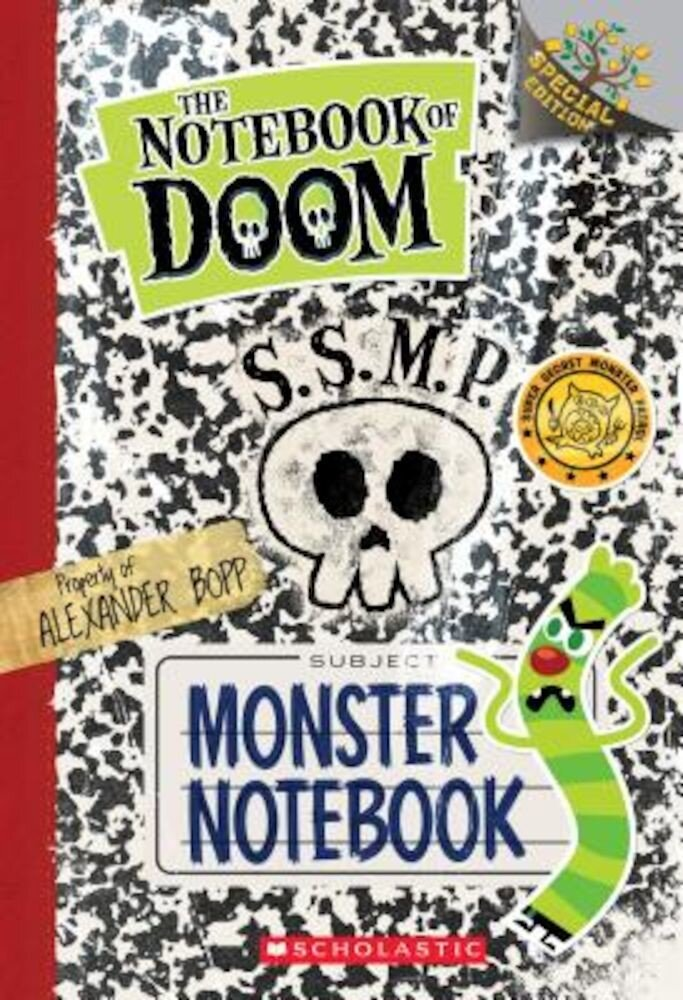 Monster Notebook: A Branches Special Edition (the Notebook of Doom), Paperback
