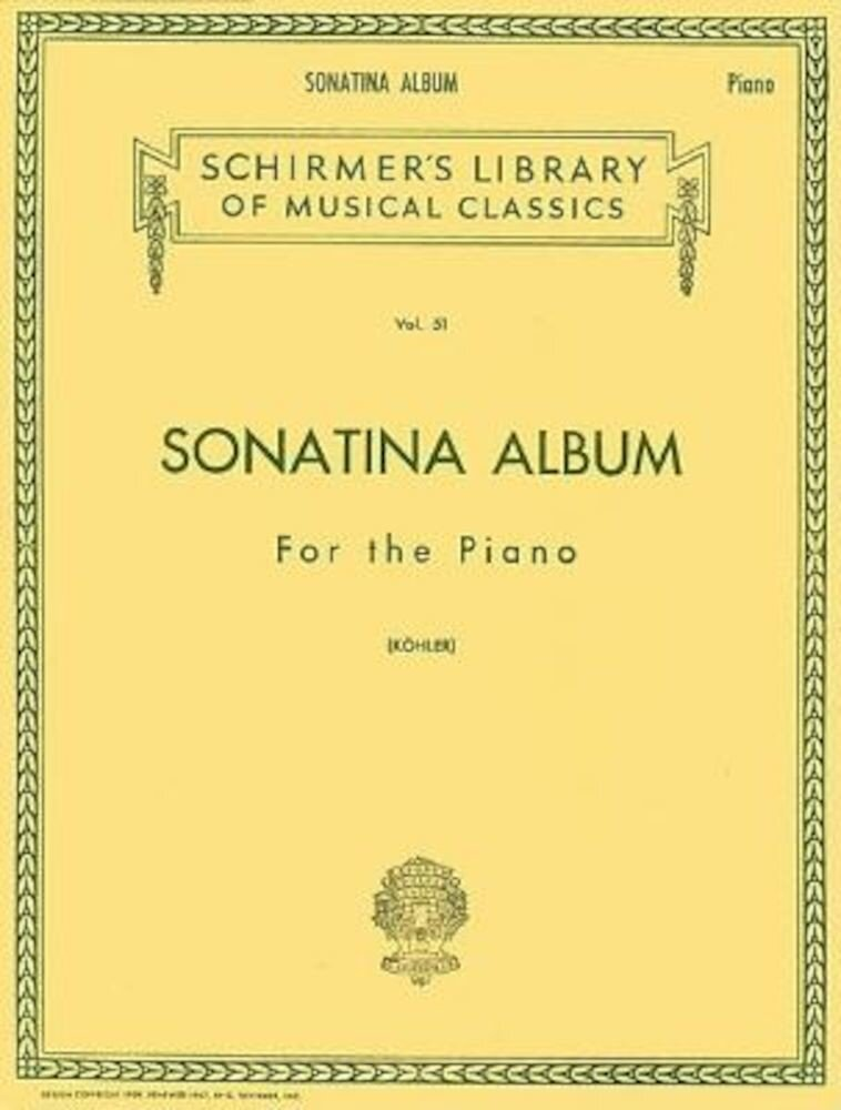 Imagine indisponibila pentru Sonatina Album: Piano Solo, Paperback