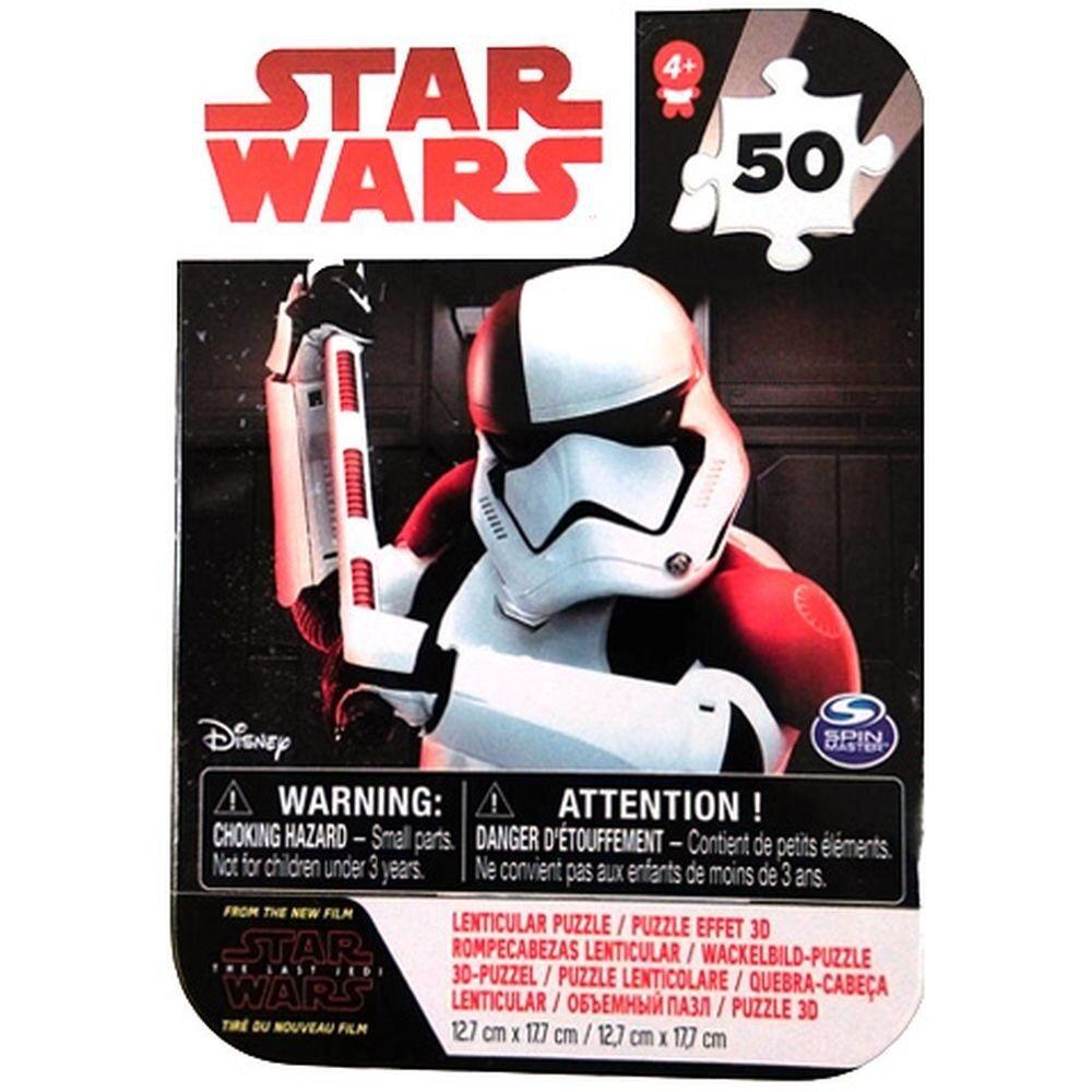 Puzzle 3D mini Star Wars, 50 piese