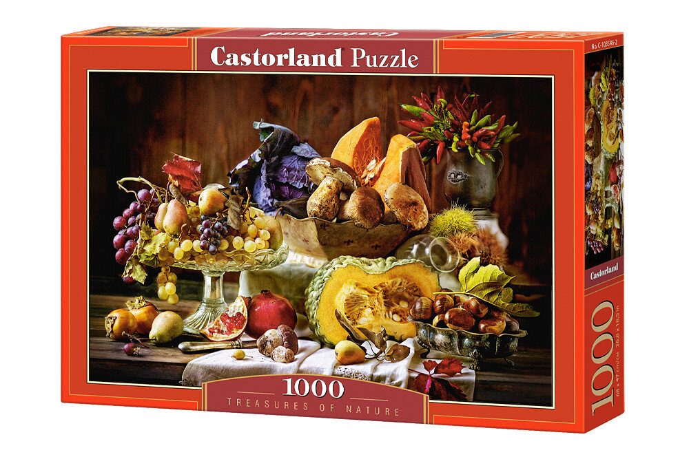 Puzzle Fructe si legume, 1000 piese