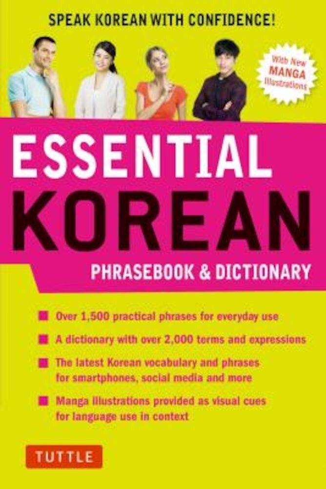Essential Korean Phrasebook & Dictionary: Speak Korean with Confidence!, Paperback
