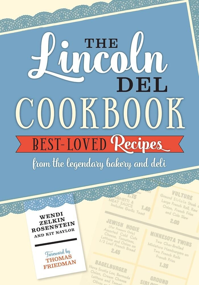 Imagine The Lincoln Del Cookbook, Paperback