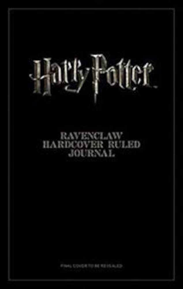 Harry Potter: Ravenclaw Hardcover Ruled Journal, Hardcover