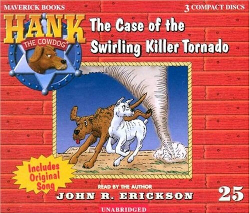 The Case of the Swirling Killer Tornado, Audiobook