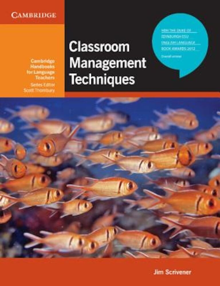 Classroom Management Techniques. Jim Scrivener, Paperback