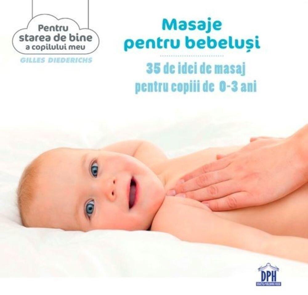 Masaje pentru bebelusi