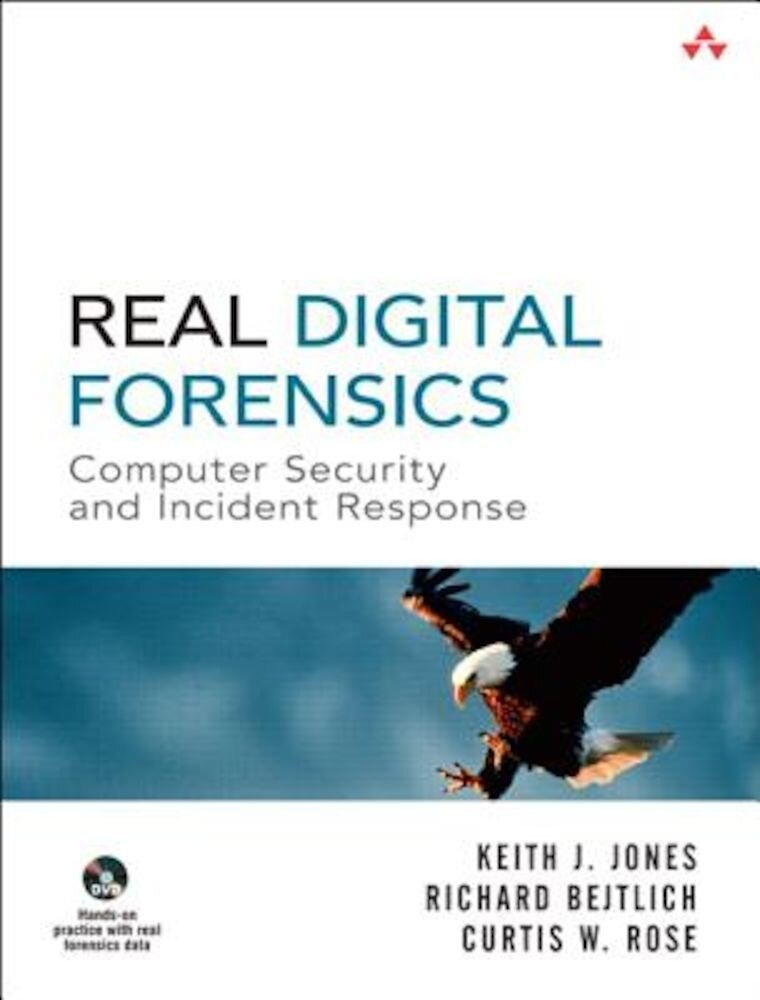 Imagine indisponibila pentru Real Digital Forensics: Computer Security and Incident Response [With DVD], Paperback