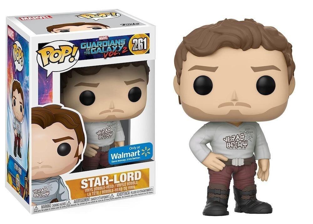 Figurina Funko Pop! Guardians of the Galaxy Vol. 2 - Star-Lord Shift Shirt