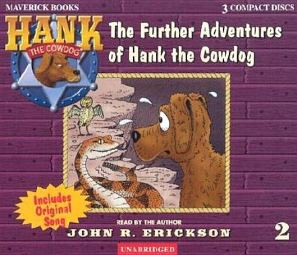The Further Adventures of Hank the Cowdog, Audiobook