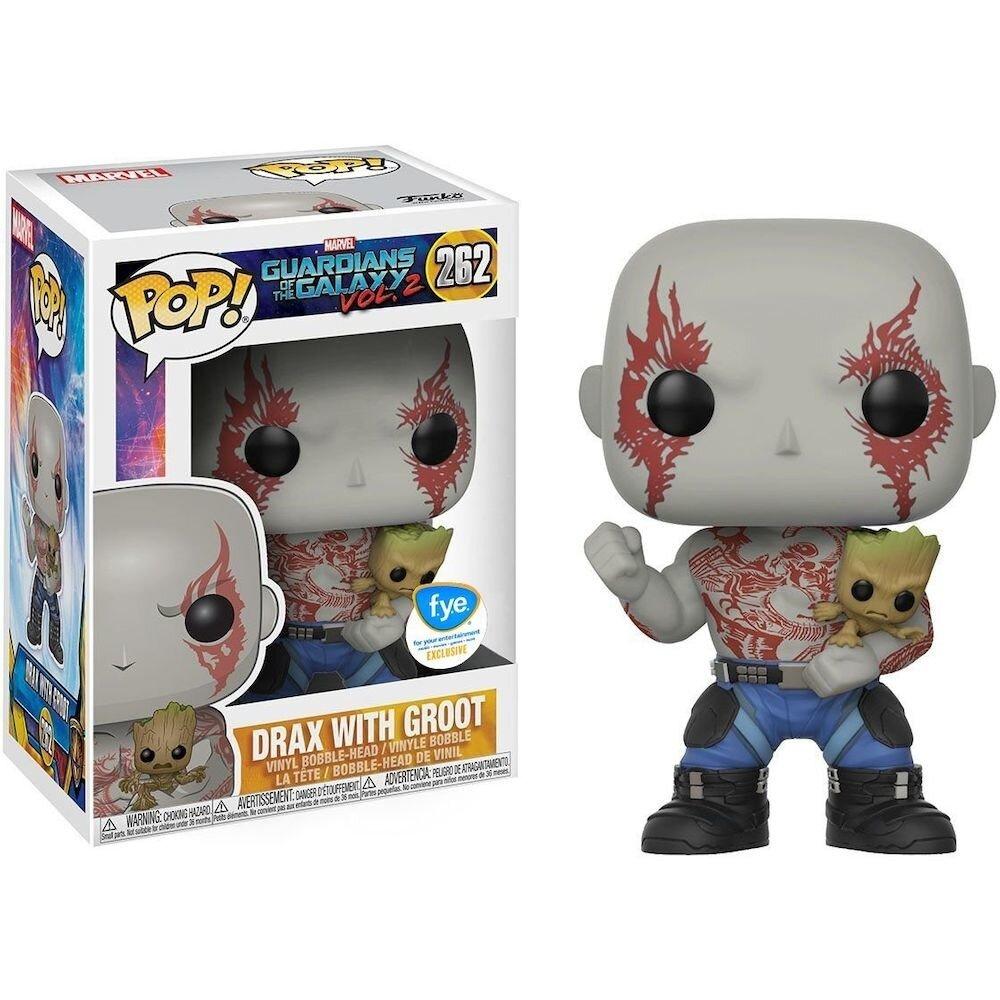 Figurina Funko Pop! Guardians of the Galaxy Vol. 2 - Drax si Groot