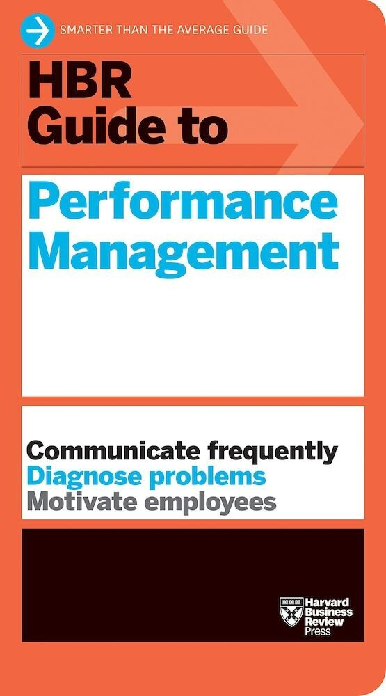 HBR Guide to Performance Management, Paperback
