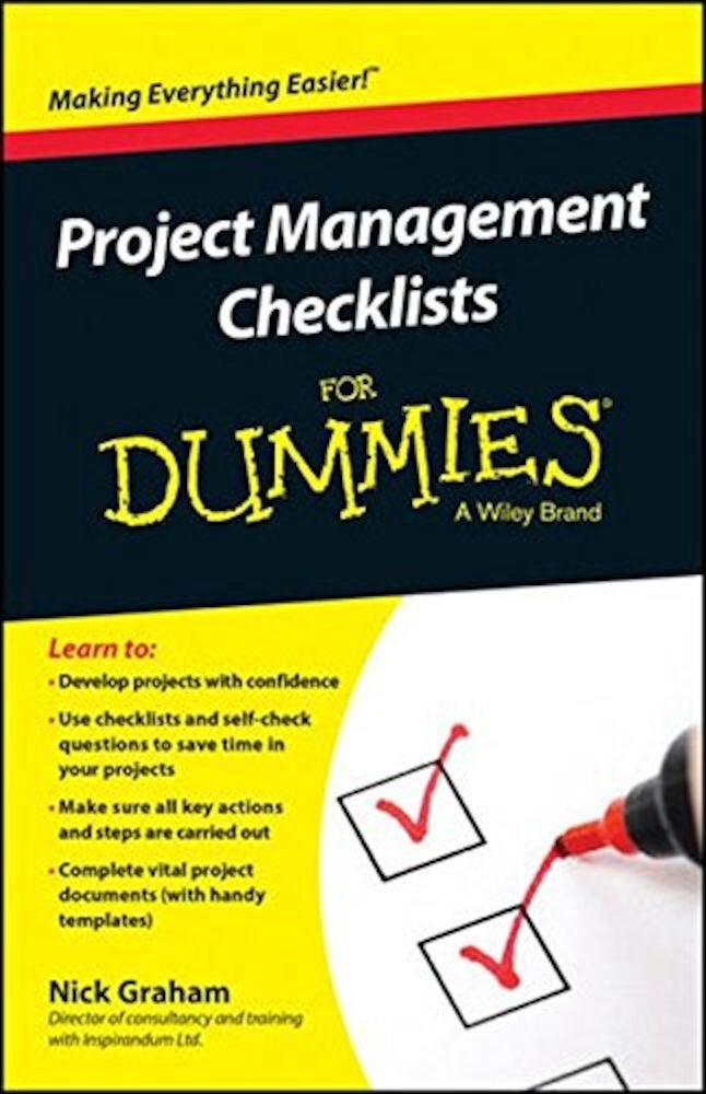Project Management Checklists for Dummies, Paperback