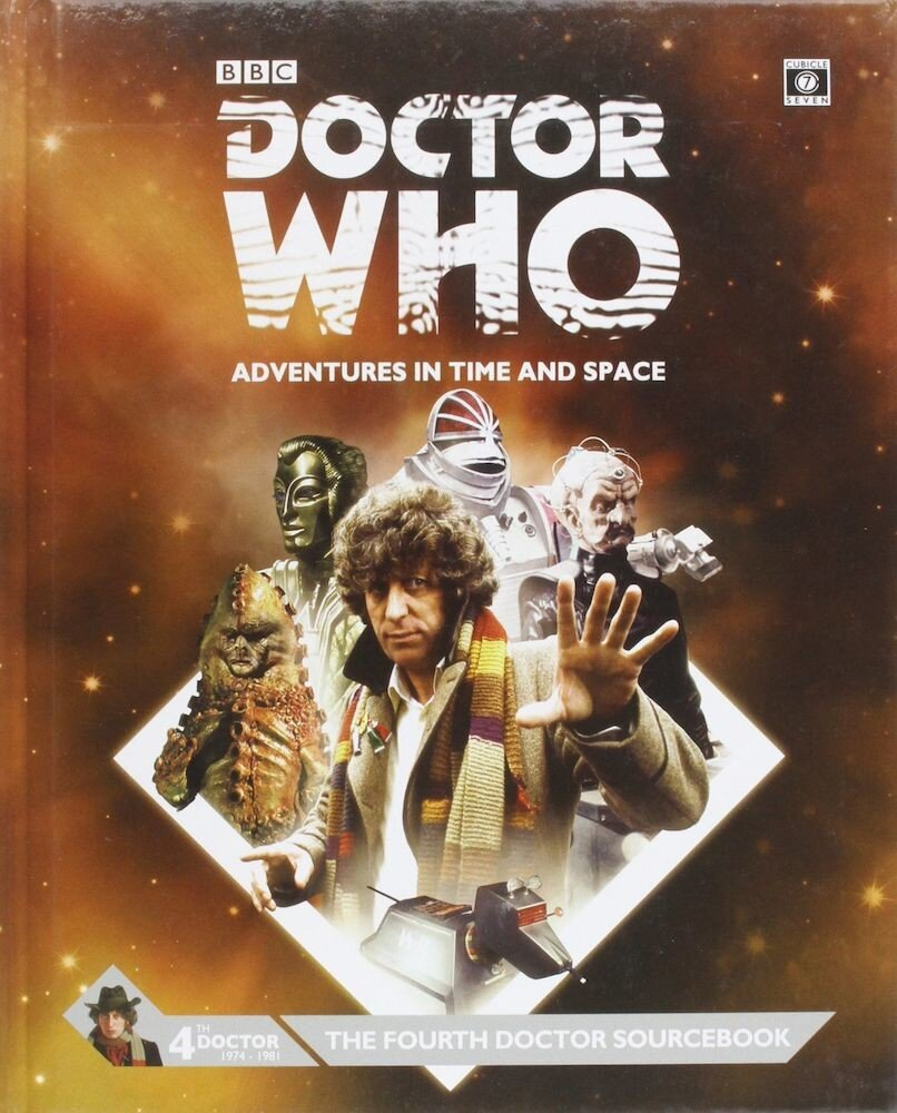 Dr Who Fourth Doctor Sourcebook, Hardcover