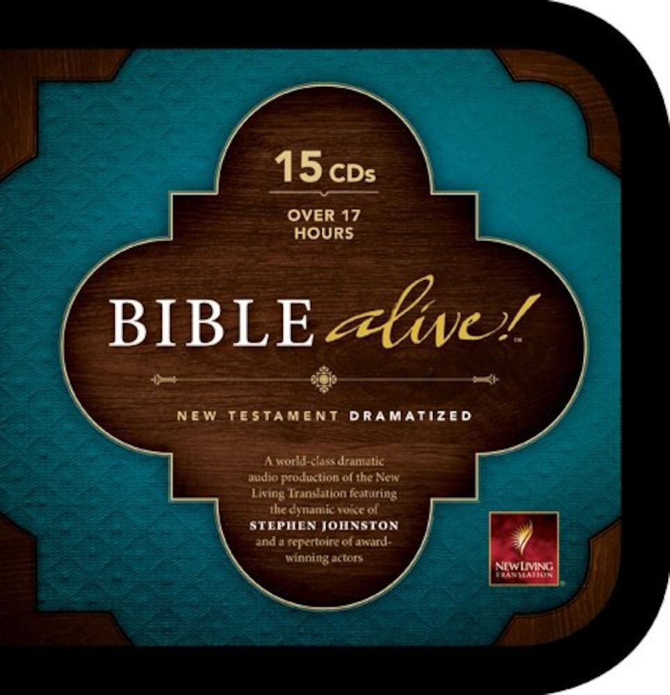 Bible Alive! New Testament-NLT, Audiobook