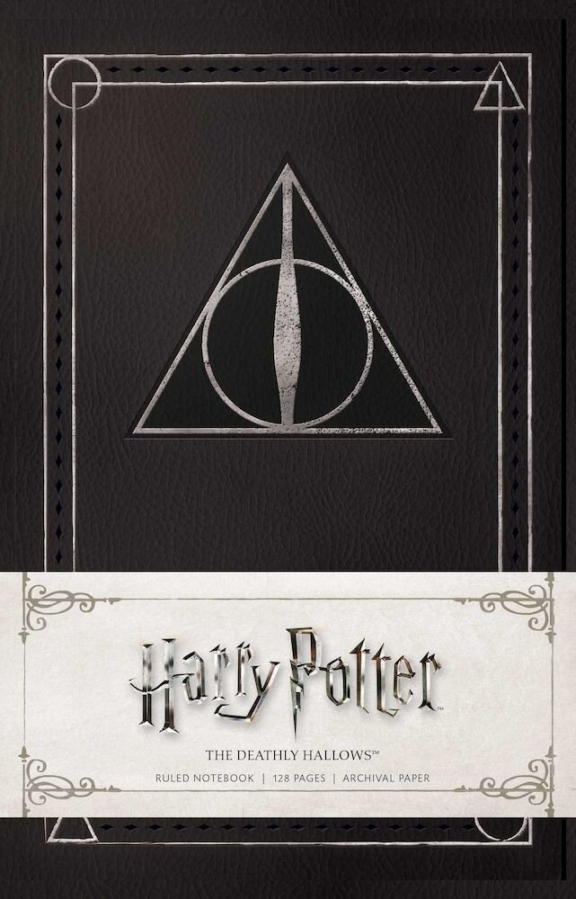Harry Potter: The Deathly Hallows Ruled Notebook, Paperback