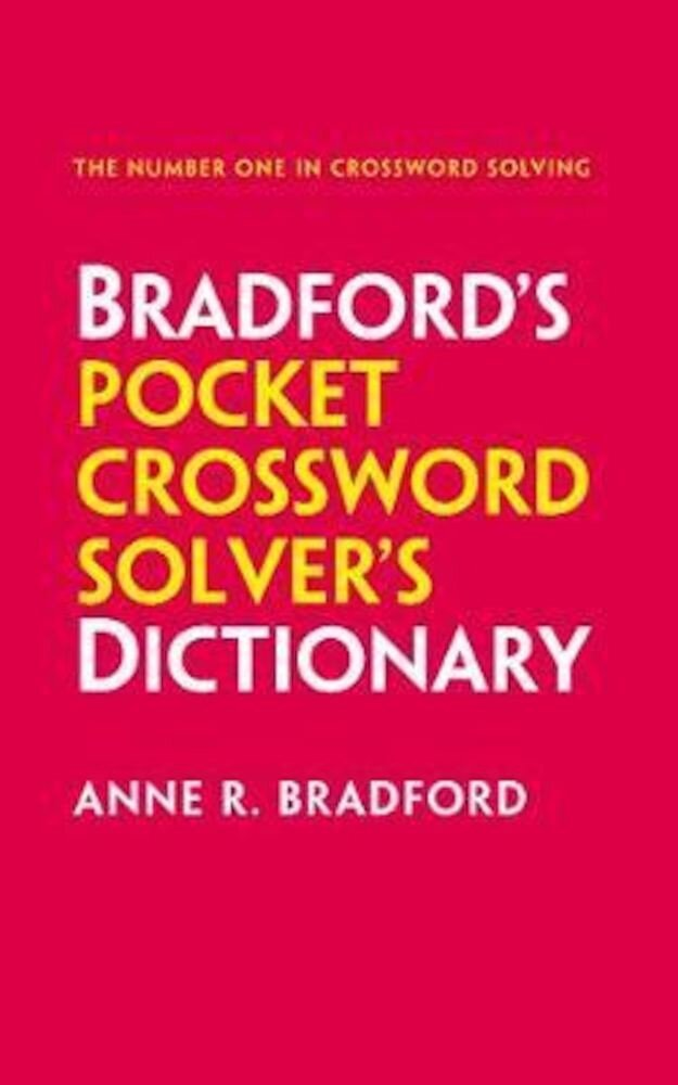 Collins Bradfords Pocket Crossword Solvers Dictionary, Paperback