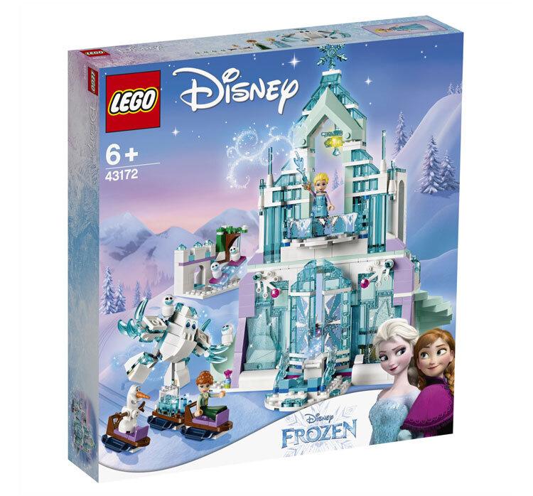 LEGO Disney Frozen, Elsa si Palatul ei magic de gheata 43172