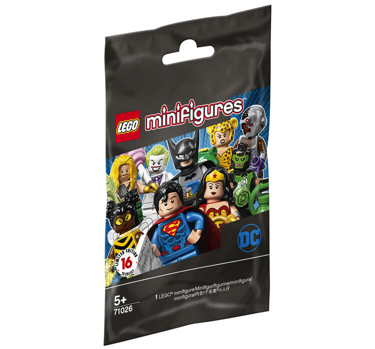 LEGO Minifigures, Seria DC Super Heroes 71026 de la LEGO