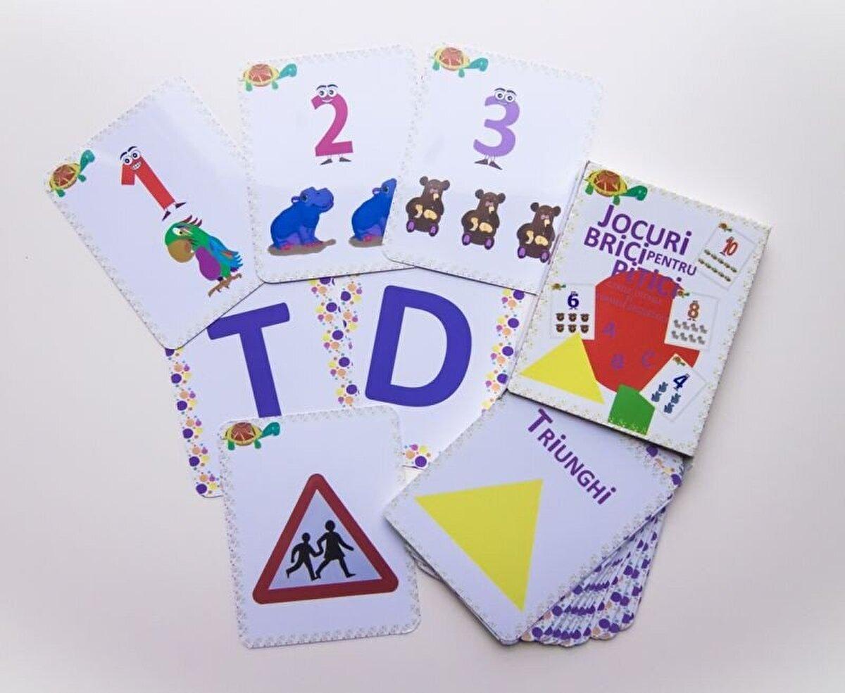 Jocuri brici pentru pitici - Cifrele, literele si formele geometrice
