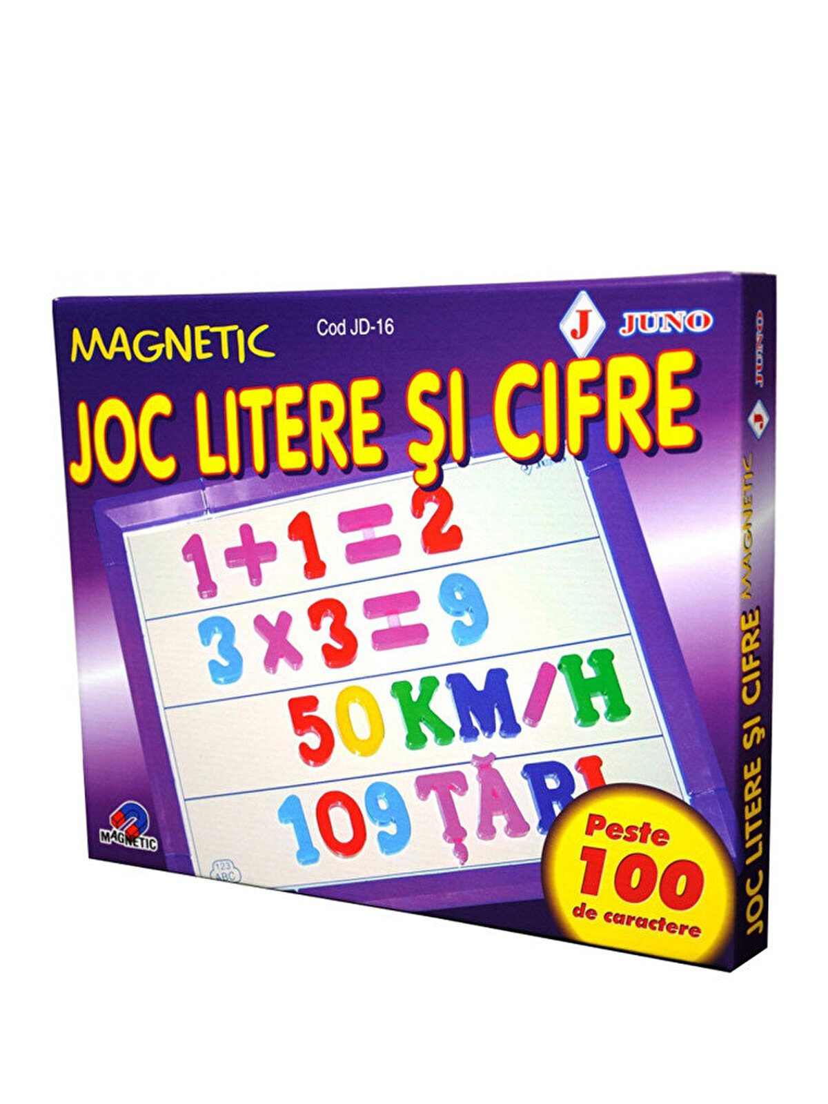 Joc Litere si cifre magnetice