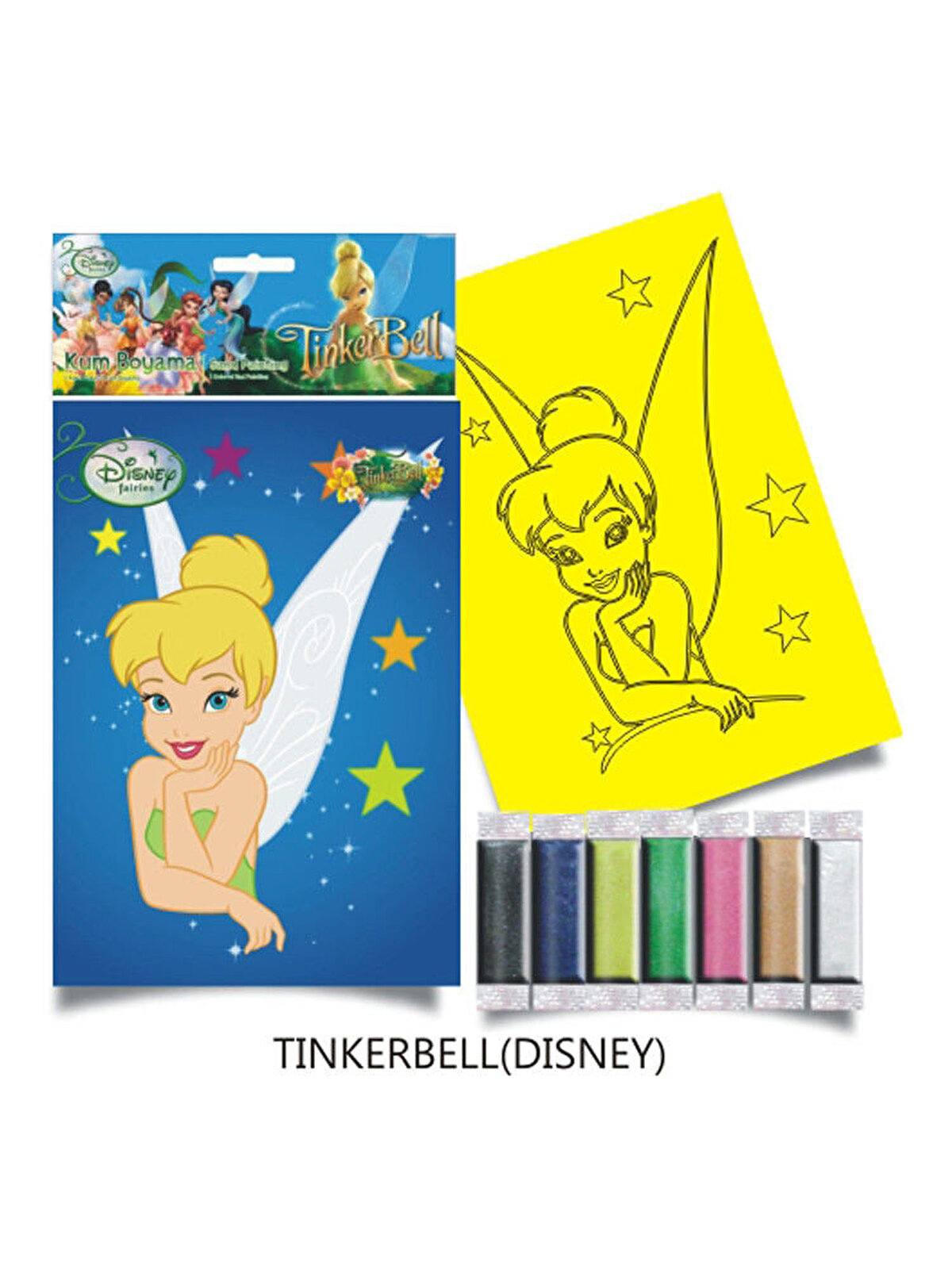 Plansa pictura nisip M, Tinker Bell