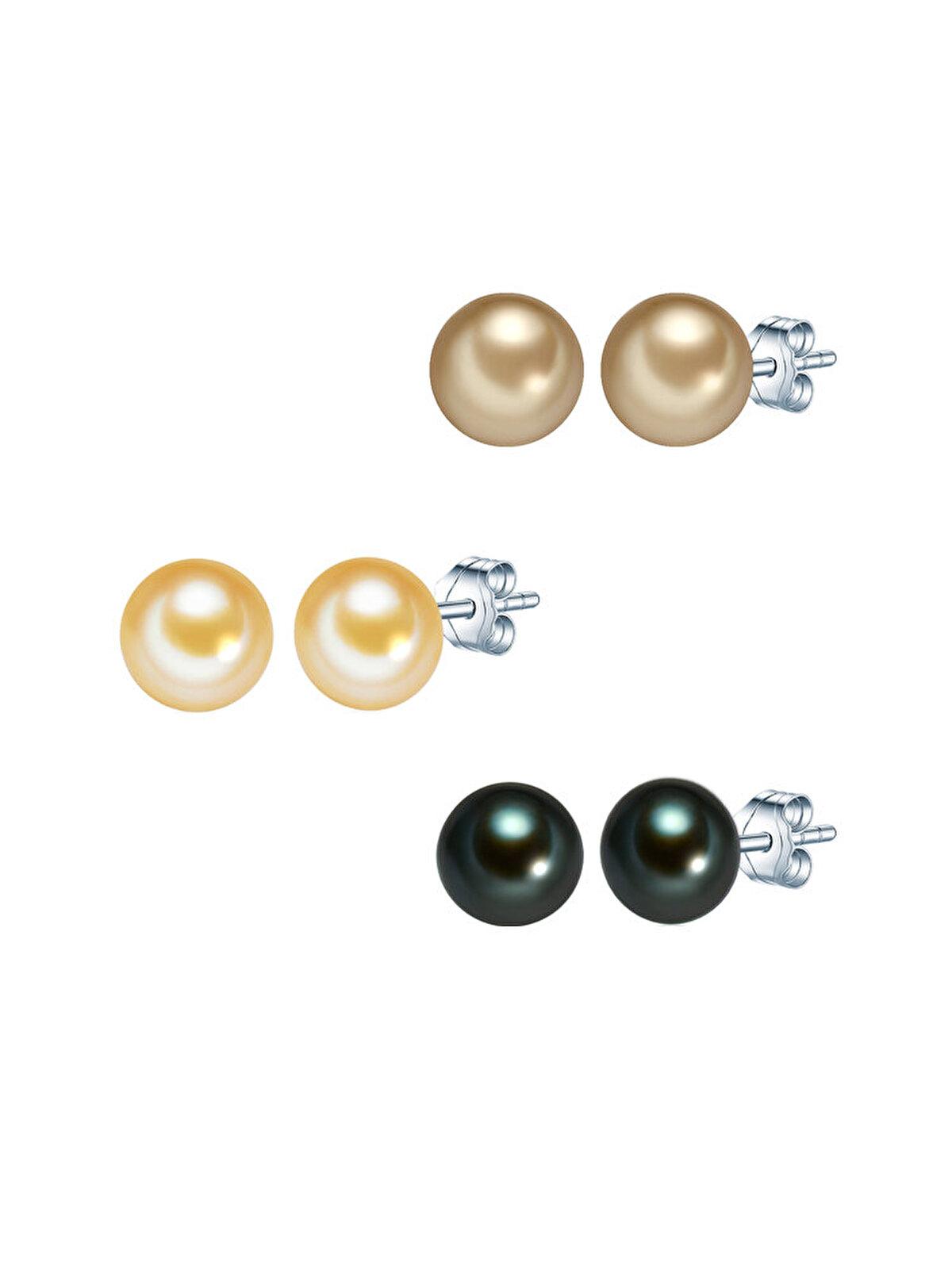 Cercei din argint Valero Pearls 60200124