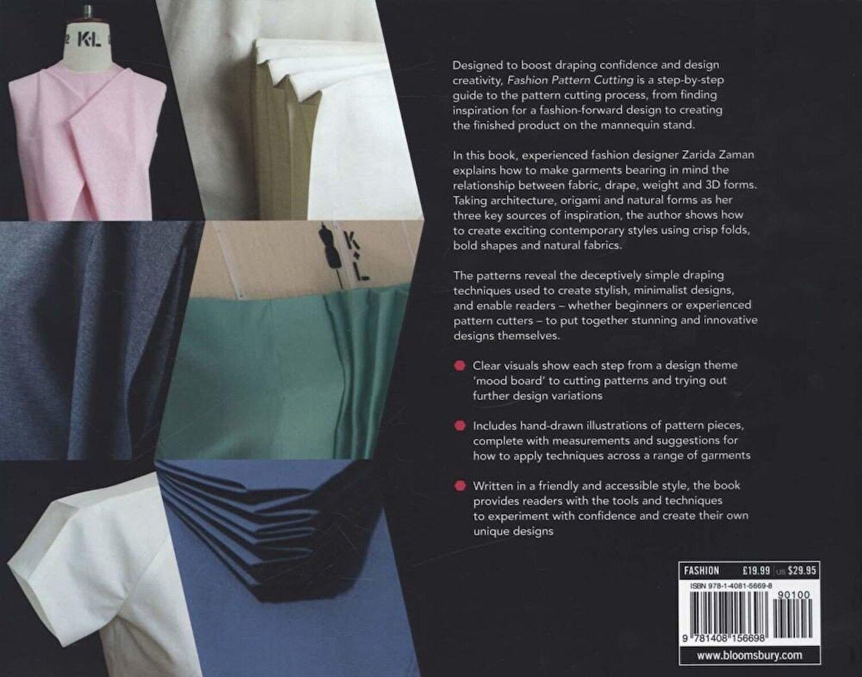 Zarida Zaman Fashion Pattern Cutting Paperback Elefant Ro