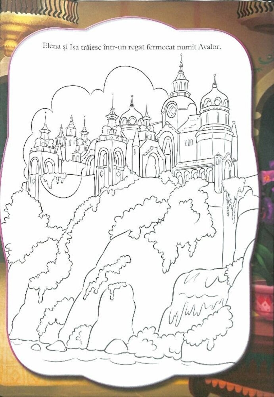 Disney Elena Din Avalor O Printesa Pentru Avalor 32 De Planse De Colorat