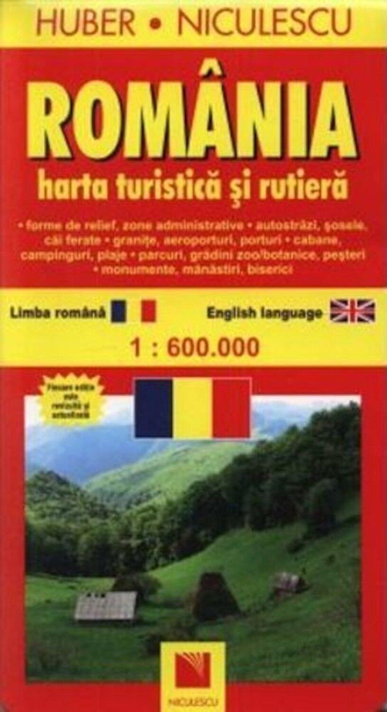 Romania Harta Turistica Si Rutiera Elefant Ro