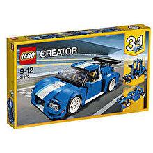 LEGO Creator 3 in 1, Masina pentru curse de raliu turbo 31070