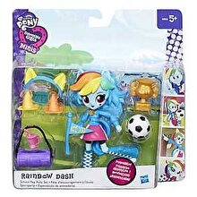 My Little Pony, Set Equestria Girls Minis - Petrecere in pijamale, Rainbow Dash