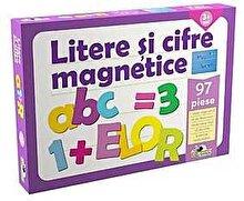 Noriel Joc educativ - Litere si cifre magnetice