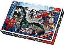 Trefl Puzzle Spider-Man - Urmarind raufacatorii, 160 piese