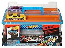 Hot Wheels Set Masinute Hot Wheels si Pista de curse cu lansator