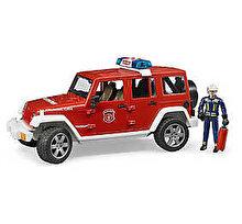 Bruder Masina de politie - Jeep Wrangler Unlimited Rubicon