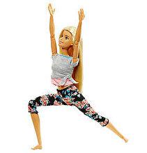 Barbie Papusa Barbie flexibila Made To Move, blonda