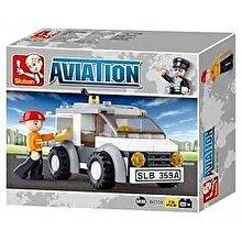 Sluban Aviation - Masina pentru transport corespondenta, 75 piese