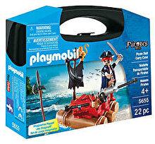 Playmobil Pirates, Set portabil - Pluta piratilor
