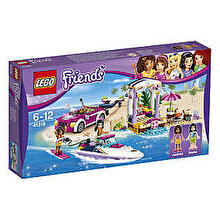 LEGO Friends, Barca transportoare cu motor a Andreei 41316