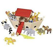 Goki Set figurine lemn - Arca lui Noe