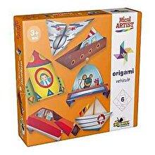 Micul Artist Joc creativ Micul Artist - Origami Vehicule