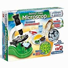 Clementoni Stiinta si joaca - Set educativ Primul meu microscop