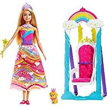 Barbie Set de joaca Barbie Dreamtopia cu leagan