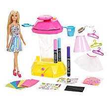 Barbie Set de joaca Barbie Crayola Confetti Skirt Studio
