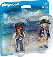 Playmobil, Set 2 figurine - Pirat si soldat