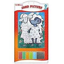Orange Elephant Set pictura cu nisip, Soarece