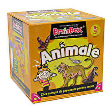 Green Board Games Joc Brainbox - Animale