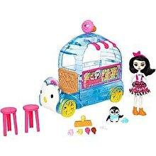 Mattel Set de joaca EnchanTimals - Furgoneta cu inghetata