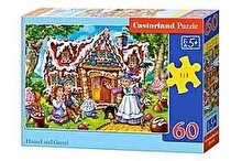 Castorland Puzzle Hansel and Gretel, 60 piese